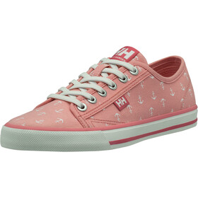 Helly Hansen Fjord Canvas V2 Sko Damer, flamingo pink/off white /blue tint